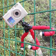Hot Mini Tripod Digital Camera Mobile Phone Stand Flexible Grip Octopus Bubble Monopod Flexible Leg Small Camera Holder Stand