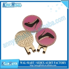 Wholesale crystal magnetic woman markers hat clip