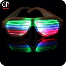Hot Selling Plastic Flashing Led Glasses