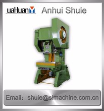 J21S-100 Shule aluminium sheet metal punching machine Small scale Aluminum Punch press equipment