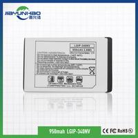 long standby time battery for LG old model battery 3.7v 950mah KF900 gb/t18287-2013 mobile phone battery