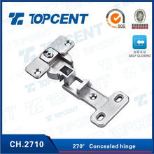 Without spring 270 degree cabinet door hinges