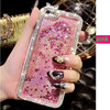 crystal liquid phone case for apple Iphone 5/Iphone6