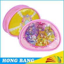 HB695 Wholesale PVC transparent plastic cosmetic bag