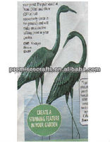Elegant heron new christmas decoration s/2 made in China