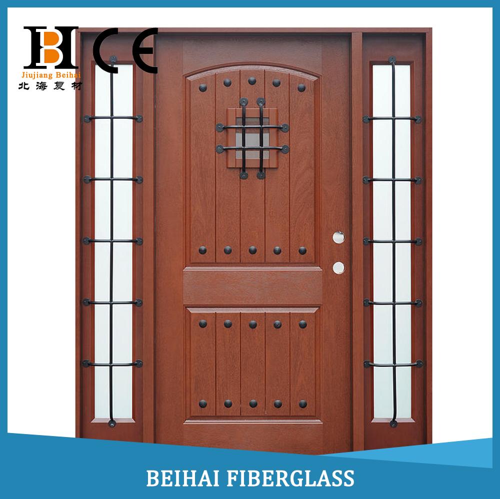 Puertas fibra de vidrio de alto rendimiento de fibra de vidrio smc puerta molde para la belleza - Puertas de fibra de vidrio ...