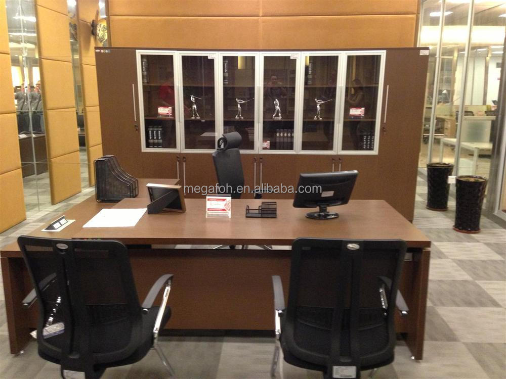 Modern Fashion White Manager Office Desk Side TableFOH UVB242 View Executive Table