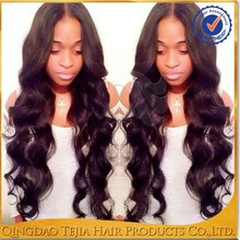 Wholesale high quality middle part loose wave cheap virgin full lace wig indian remy