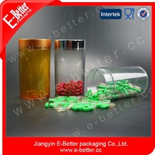 Empty plastic pill bottle, 50ml and 1000ml, pill bottle