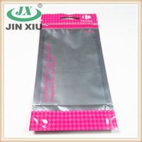 Custom printing earphone aluminium anti moisture bag
