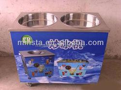 Fried ice cream roll machine, Ice pan machine