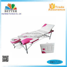 Better 2015 newfolding massage table with mixed colors