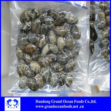 Frozen cooked baby clams -- export USA market
