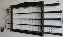wall mounted golf cue storage rack /golf club display rack