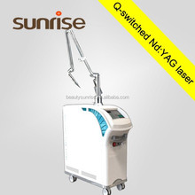 1-10Hz Flat-top Active Q Switch Nd Yag Laser for tattoo removal pigment removal