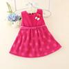 hot sale baby girls fashion woolen dress/winter dress for kids/girls