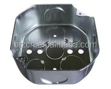 "4"" galvanized steel junction box"