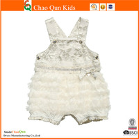 newest organic cotton children girls smocking frock design dress