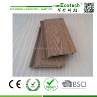 wood plastic composite balcony floor & fence slats
