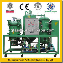 Chian typical marine used motor oil recycling machines