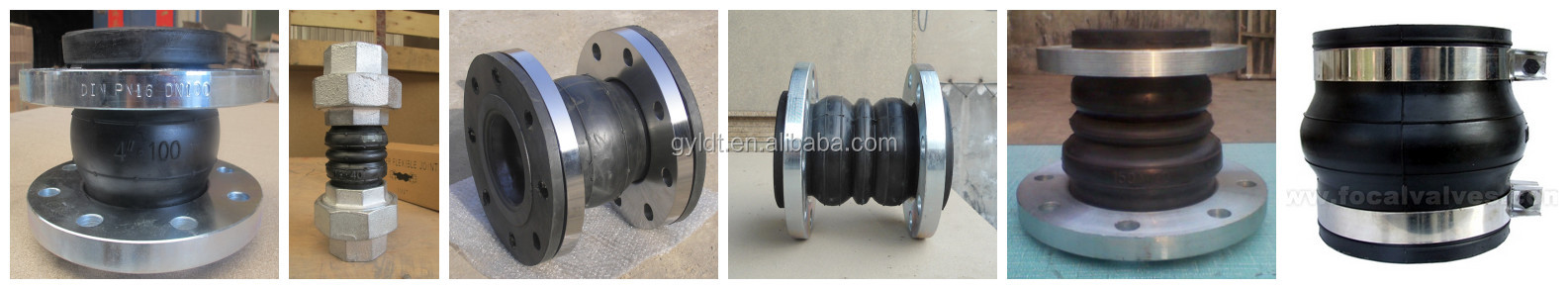 DIN/ANSI Flanged Rubber Pipe Joint