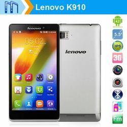 Original Lenovo K910 Vibe Z 5.5inch Smartphone Android 4.2 Quad Core 2.2GHz 2G/16G Memory Dual SIM