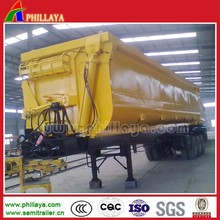 Rear/Side Tipping Tractor Hydraulic Dump Trailer With 20-60M3 Optional