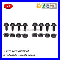 Hardware products factory Car Plastic Clips Fasteners , Plastic Injection Molding , Plastic Clamps and Fasteners