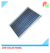 Glass laminated Aluminum frame best Mono/poly 20w solar panel price