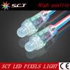 factory price 9mm ws2801 rgb led pixel light (SCT-DD-1)