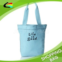 Simple Fashion Daily Carrying Eco canvas printing shopping bag