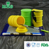 silicone oil container silicone jars dab wax vaporizer oil container glow in the dark silicone jars container