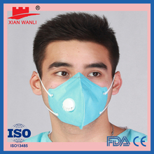 Disposable solid face mask Medical surgical face mask