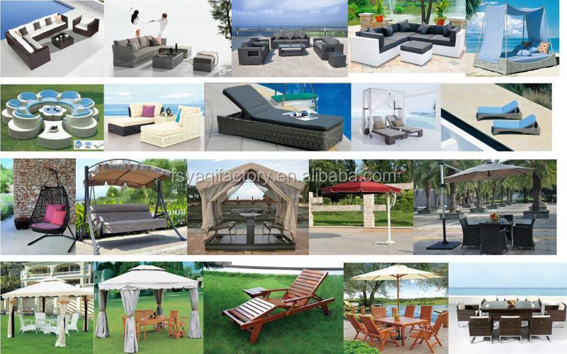 Modern good quality outdoor rattan sofa set(YA-3049)