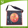 Wholesale custom design printed promotional Eco-friendly PP Non woven school sports shoulder bag Messenger students