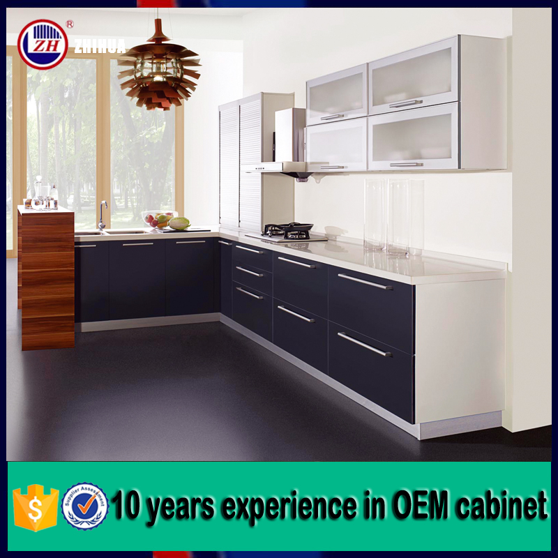Free cad design high quality single kitchen cabinet buy for Single kitchen cupboard