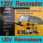 Ferramentas para casa multifunções serra Renovadora 120V, Ferramentas de Potência Multifunções, Ferramenta Vibratória.