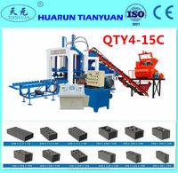 Paver Manufacturer Qt 5-15 Hydraulic Full Automatic Making Brick free Making free Hollow Machine populari n Nigeria
