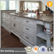high quality american style soild wood kitchen designs/kitchen set