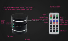 18W Portable Wireless Bluetooth Vibration Speaker Resonance Music Player for Gifts
