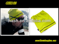 Fluorescence Knitted neck warmer hat