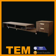 New Design Ikea Style TV Cabinet with Showcase