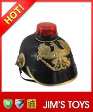 Black Prussia Helmet with Light and Music German Army Helmet
