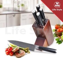 japanese damascus steel knife set