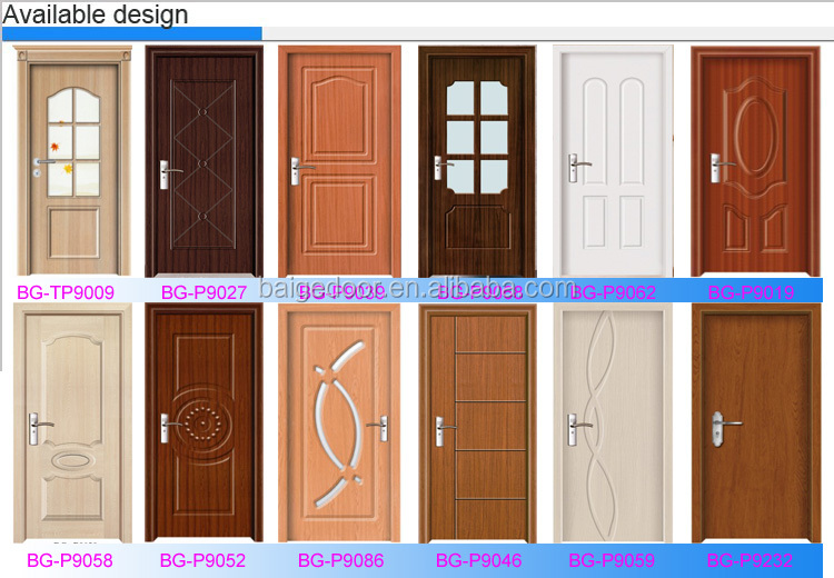 Bg P9059 Laminated Flush Doors Pvc Doors Prices View Pvc