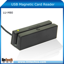 Dual-direction Read Capability Smart 3 Tracks USB Magnetic Card Reader