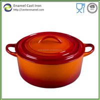 Cast iron pot set chinese hot pot restaurant stainless pot set well equipped kitchen brand enamelware