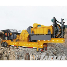 Tarzan offers mobile rock crusher for aggregate production plant