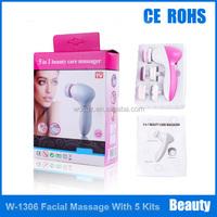 Mini Handy 5 Kits High Rotary Facial Massager