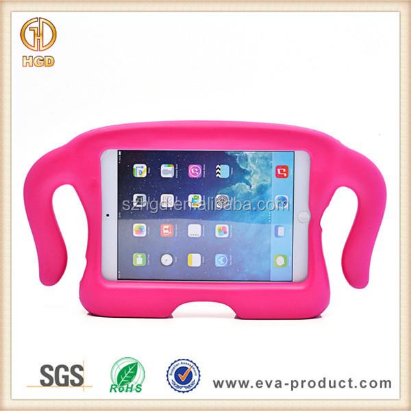 Crianças EVA Macio Leve Case para iPad Mini, EVA para iPad Mini Caso